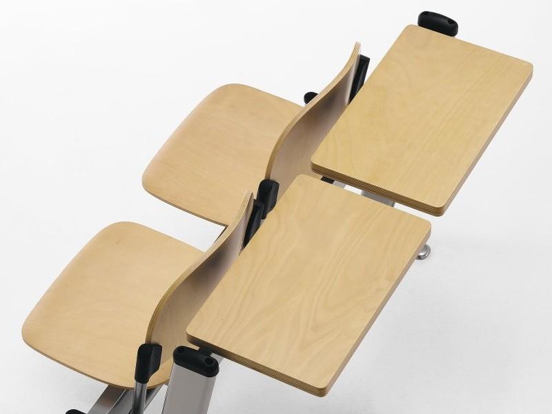 sedie pieghevoli legno università