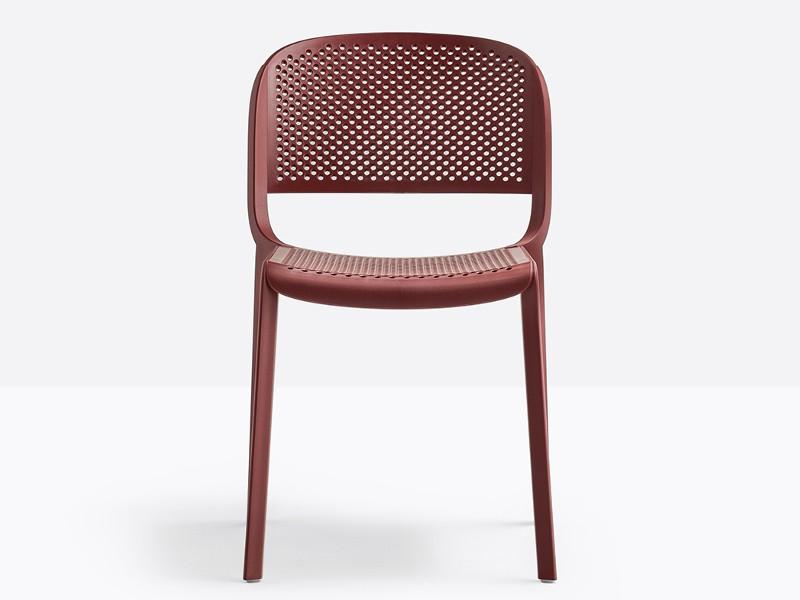 dome sedile e schienale traforati